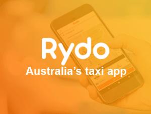 Rydo australia taxi app